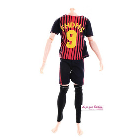 Roupa Futebol Para Boneco 1 6 Falcon Gi Joe Action Figure 42. R  29 90 91e6379efcefd