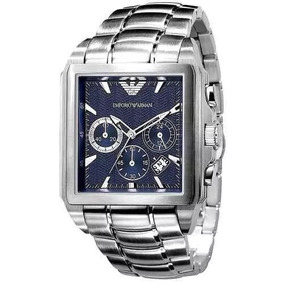 Relógio P2010140 Emporio Armani Ar0660 Azul Jogador Kaká