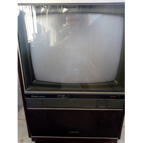 Tv.mitsubischi Tc- 2604 - Stereo C/ Rack E Som Conjugado.