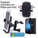 Microsoft Lumia 550 Sujetador Auto Rejilla Aire Acondicionad