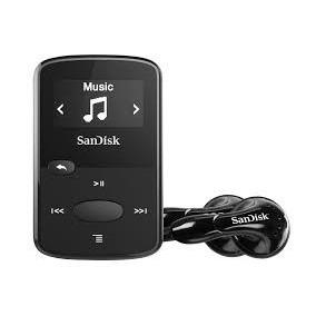 Sandisk Mp3 Player Sansa Clip Jam 8 Gb Preto Entrada Cartão