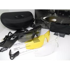 Gafas Oakley Mframe Ballistic 3 Lentes Militar Táctica Radar