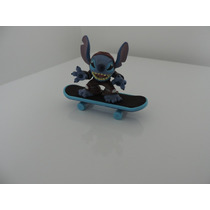 Miniatura Stitch Skatista, Original Disney, Skate Imantado