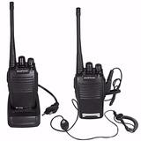 Walk Talk Radio Comunicador Baofeng Bf-777s + Fone De Ouvido