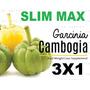 Adelgante Quemador Garcinia Cambogia Slim Max Extr 3 Envases