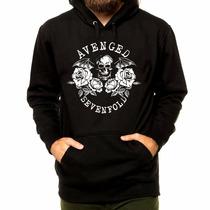 Blusa Blusão Moletom Banda Rock Avenged Sevenfold