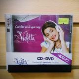 Cd + Dvd / Violetta: Cantar Es Lo Que Soy