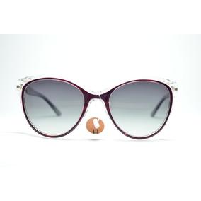 a0df4c3a2141a Oculos De Sol Feminino Redondo Vinho Proteção Uv Polarizado