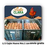 1/2 Cajón Huevo N1 6 Maples Envío Gratis Huevos Finos