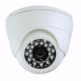 Camara Domo 1200 Tvl 3.6 Mm Vision Nocturna 1.3 Mp 24 Led