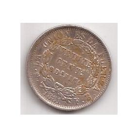 Bolivia Antigua Moneda De Plata 20 Centavos Año 1881 4.6 Grs