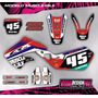 Kit Grafica Calco Honda Cr 125 - 250 - 98/99 - Gruesos!!!