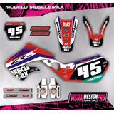 Kit Grafica Calco Honda Cr 125 - 250 - 98/99 - Gruesas