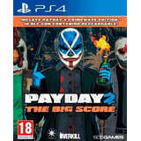 Payday 2 The Big Score Ps4 Fisico Nuevo Xstation