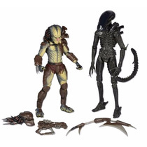 Neca Alien Vs Predator Two Pack Envio Gratis!!