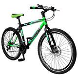 Bicicleta Lahsen Mtb Aro 26 Challenger 18 Vel.
