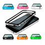 2 Capas Case Iphone 4s / 4 - Bumper, Proteção + 4 Películas