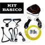 Kit Bandas Ligas Latex Rehablitacion, Trx, Crossfit, Pilates
