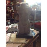 Escultura En Piedra Mujer Desnuda De Martha Rosales