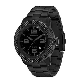 Glam Rock Hombre Gr Sobe Negro Dial Negro Ion-plated Reloj