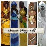 Santeria, (sopera)negras Africanas Con Sus Caminos Santería