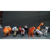 Jungla Maqueta De Animales 12 Piezas Plastico Duro 15 Cm
