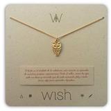 Joyas Dulcementa Wish Whclcd036o Collar Cadena Oro Búho Mu