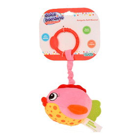 Dolce Bambino Amiguito Soft Musical Pez Rosa Ditoys
