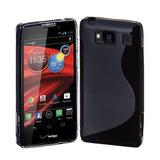 Capa Gel Tpu S-style Motorola Razr Hd Xt925 Xt926 + Pelicula