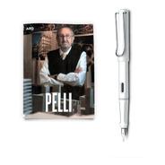 Arq Libro Cesar Pelli + Lamy Safari Blanco