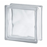 Bloco De Vidro Transparente - Tijolo De Vidro Incolor 19x19