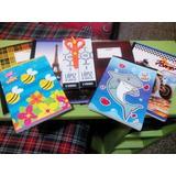 Combo Escolar Libretas Cosidas, Cuadernos, Cajas De Lápiz