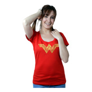 Wonder Woman Remera De Comics Para Chica - Mujer Maravilla,