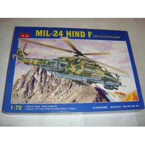 Modelo Helicoptero Mil-24 Hind F Kitech Para Armar