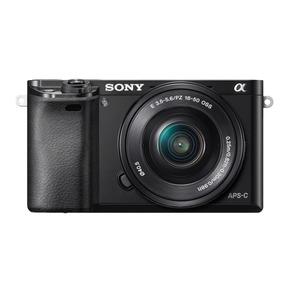 Cámara Alpha Ilce-6000l 24.3 Mp Lente Selp1650 Sony Store