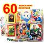 60 Memoramas Economico Juguete Piñata Regalo Bolo Premio Cum