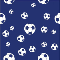 Adesivo De Parede Futebol Menino Azul Auto Colante Decoração