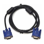 Cable Vga 3 Mts Macho Doble Filtro Y Blindado Monitor Pc