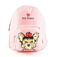 Mochila Pet Friend Rosa - Compunet