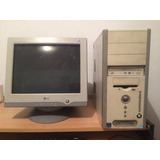 Cpu + Monitor Commodore Dual Core 3gb Ram 80 Hdd
