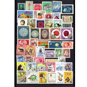 Selos Da Hungria Carimbados - 50 Selos Diferentes-lote 02