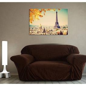 Cuadro Paris Clasico Amor Francia Luces Torre Eiffel 60x90cm