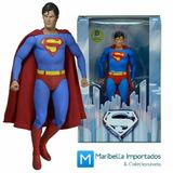 Boneco Action Figure Superman Christopher Reeve - Neca Retrô