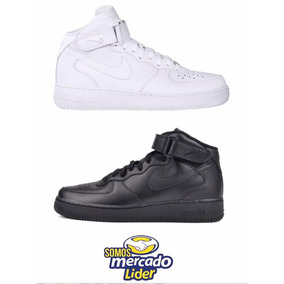 8207d749b5b Nike Air Force One Botas - Tenis Nike para Hombre Blanco en Mercado ...