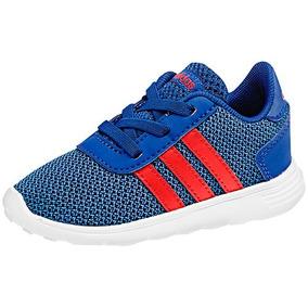 Tenis adidas Lite Racer B75999 Azul-rojo Niño Oi