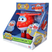 Boneco Super Wings Jett Grava E Fala - 82416 Fun
