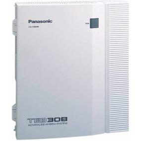 Central Telefonica Panasonic Kxteb 308 3 Lineas Y 8 Internos