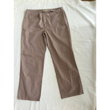 Pantalón Jean Arena Beige Talle 48/50 Dnk Mujer