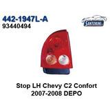 Stop Izquierdo Chevrolet Chevy C2 Confort 2007-2008 Depo
