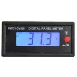 Voltimetro Digital Autorrango De Panel 500 Volts Cc Esun